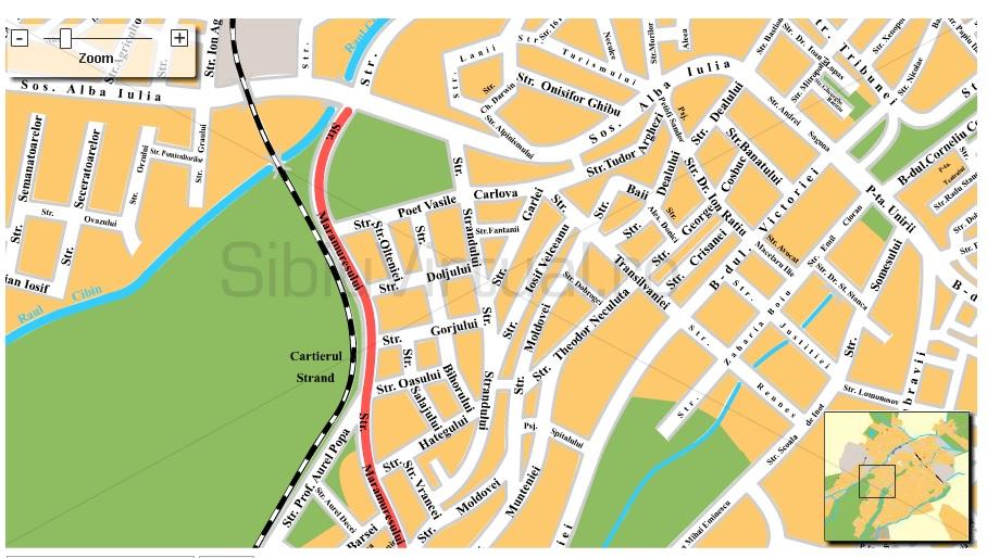 Circulația pe Maramureșului va fi închisă duminică