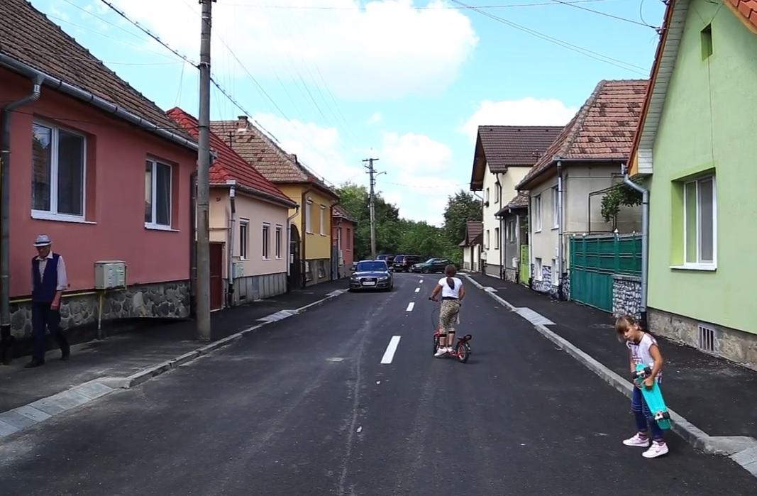 Sibiu. Jumătate din străzile aflate în lucru, finalizate în cursul lunii august