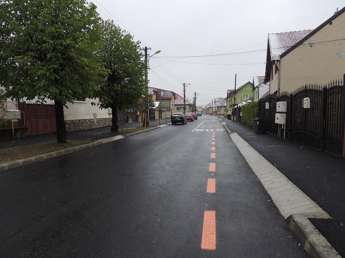 Prima stradă a cărei modernizare a fost recepționată în 2017: Strungului