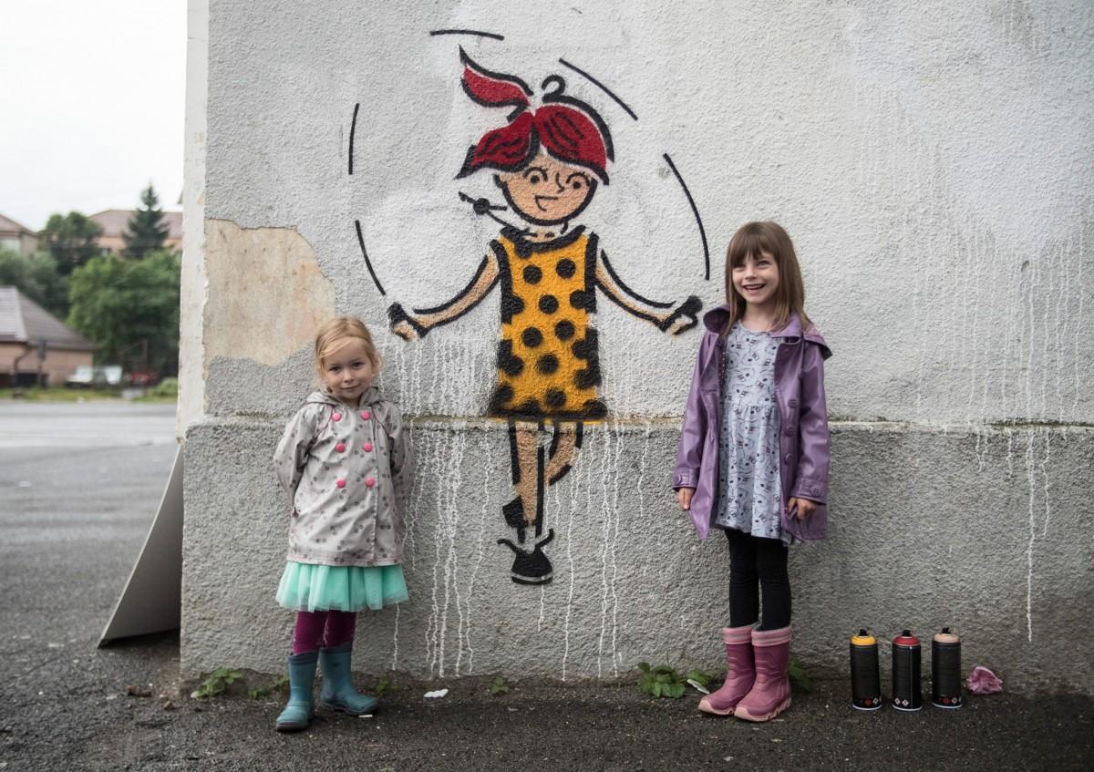 """Când graffiti devine artă în loc de vandalism? """"Un loc care nu spune nimic e deranjant"""""""