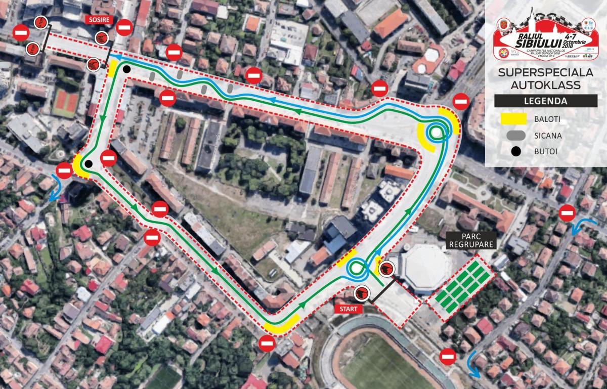 Restricții în trafic pentru desfășurarea Raliului Sibiului 2018 (CP)