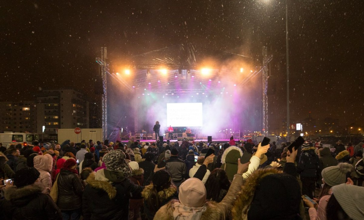 Concerte cu Andra, Narcisa Suciu, Vescan și Bibi, la Târgul de Crăciun Șelimbăr