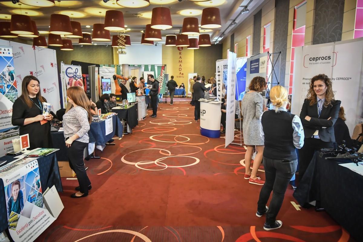 Peste 2.000 de joburi, mini-interviuri și Speed Challenge la Târgul de Cariere Sibiu