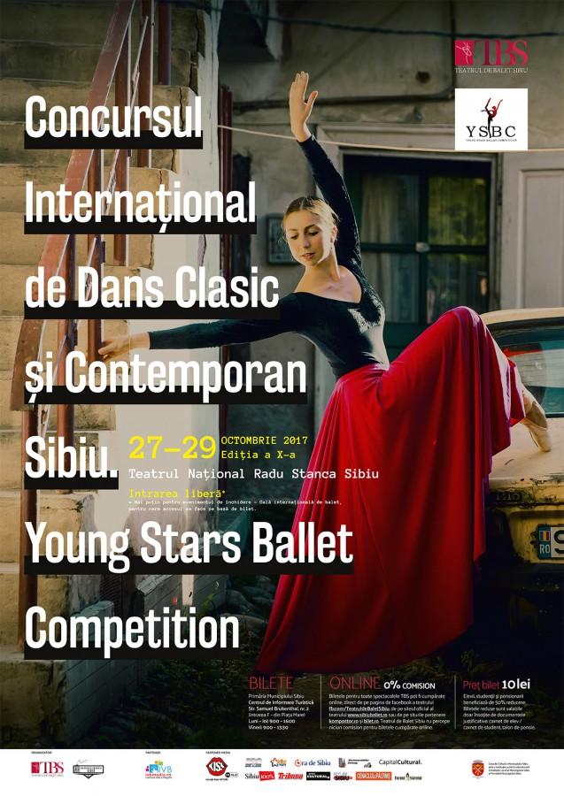 """Directorii celor mai bune școli de balet vin la Sibiu. Începe""""Young Stars Ballet Competition"""""""