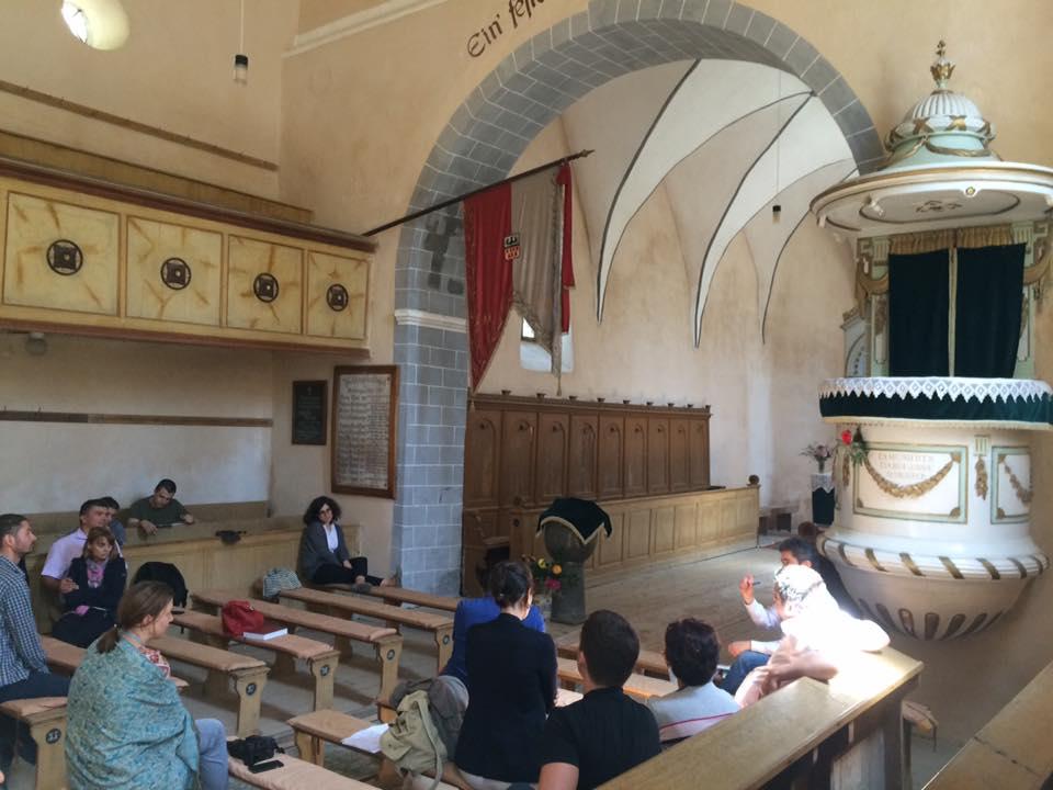 """,,De la predică la discurs motivațional"""" în bisericile fortificate din Ardeal"""