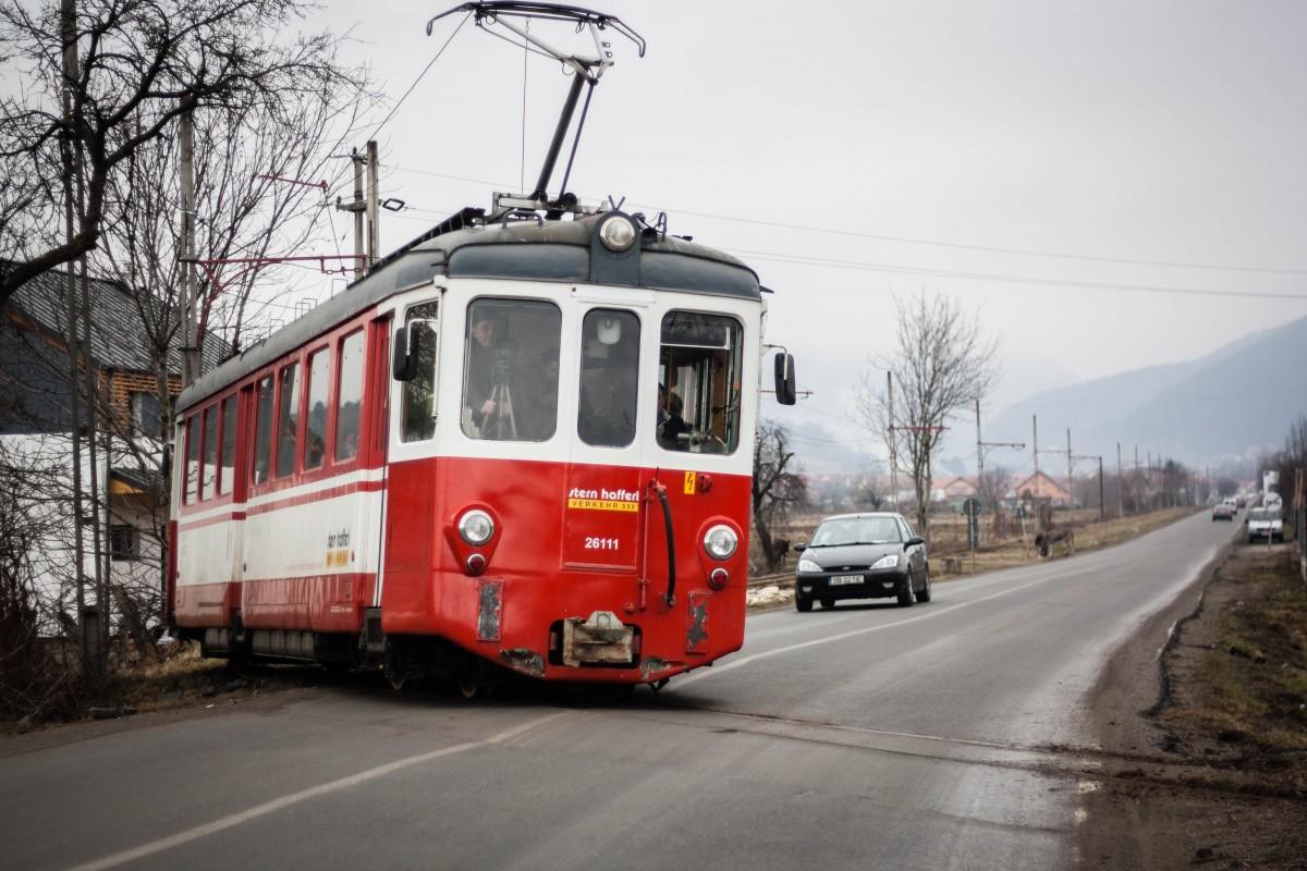 """Prima plimbare cu noul tramvai. """"Pentru mine e oîntoarcere în timp""""   Foto"""
