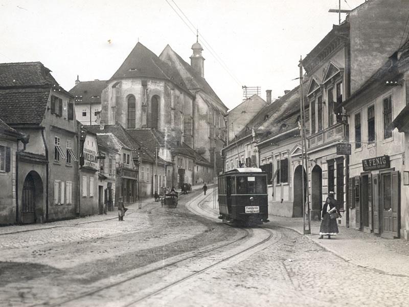 1960. Pe străzile Sibiului au început să circule tramvaie noi