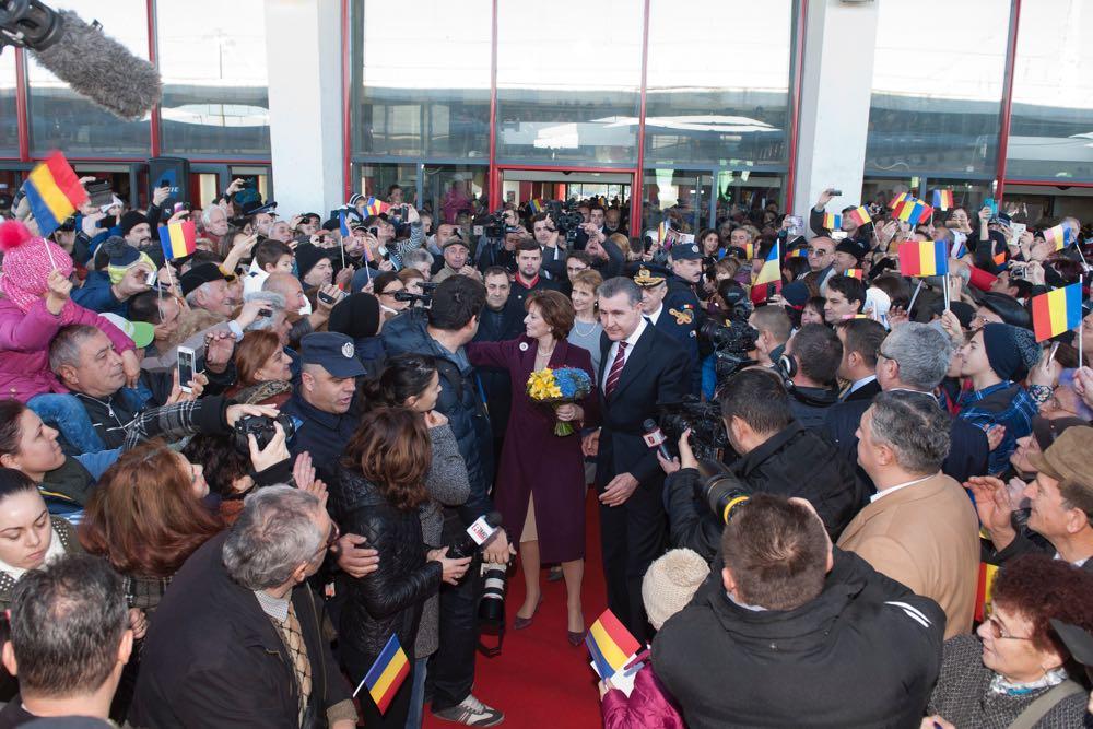 Principesa Moștenitoare Margareta și Principele Radu vin la Sibiu cu Trenul Regal, deZiua Națională