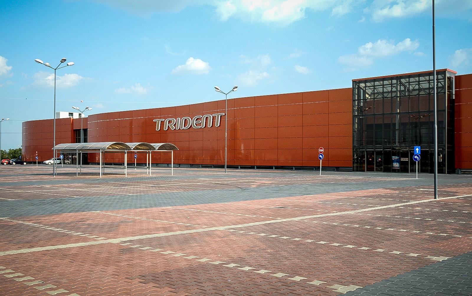 Actualizare | Centrul comercial Trident a fost vândut cu 5,5 milioane de euro. Din aprilie poate fi închiriat