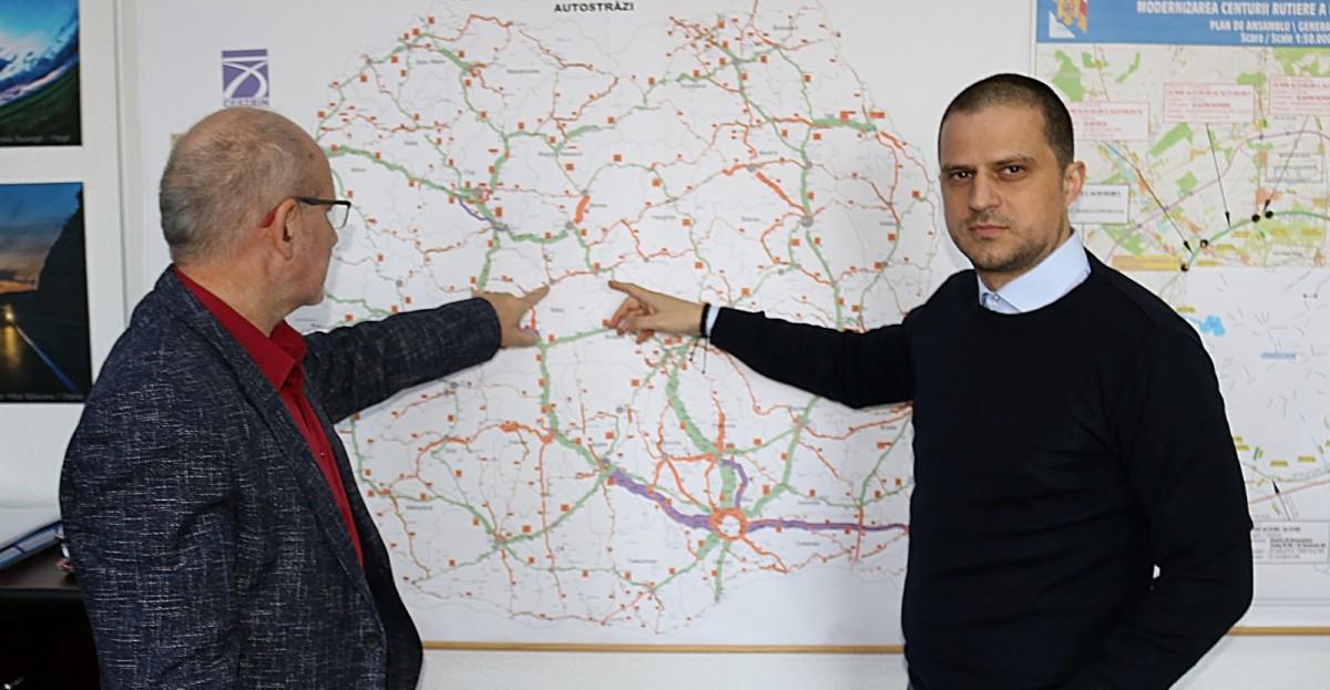 PSD și PNL își arogă meritele pentru construcția aceluiași drum în județul Sibiu:8 km în peste un deceniu