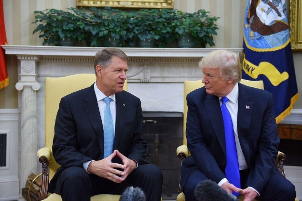 VIDEO - Klaus Iohannis susţine o conferinţă de presă comună cu Donald Trump