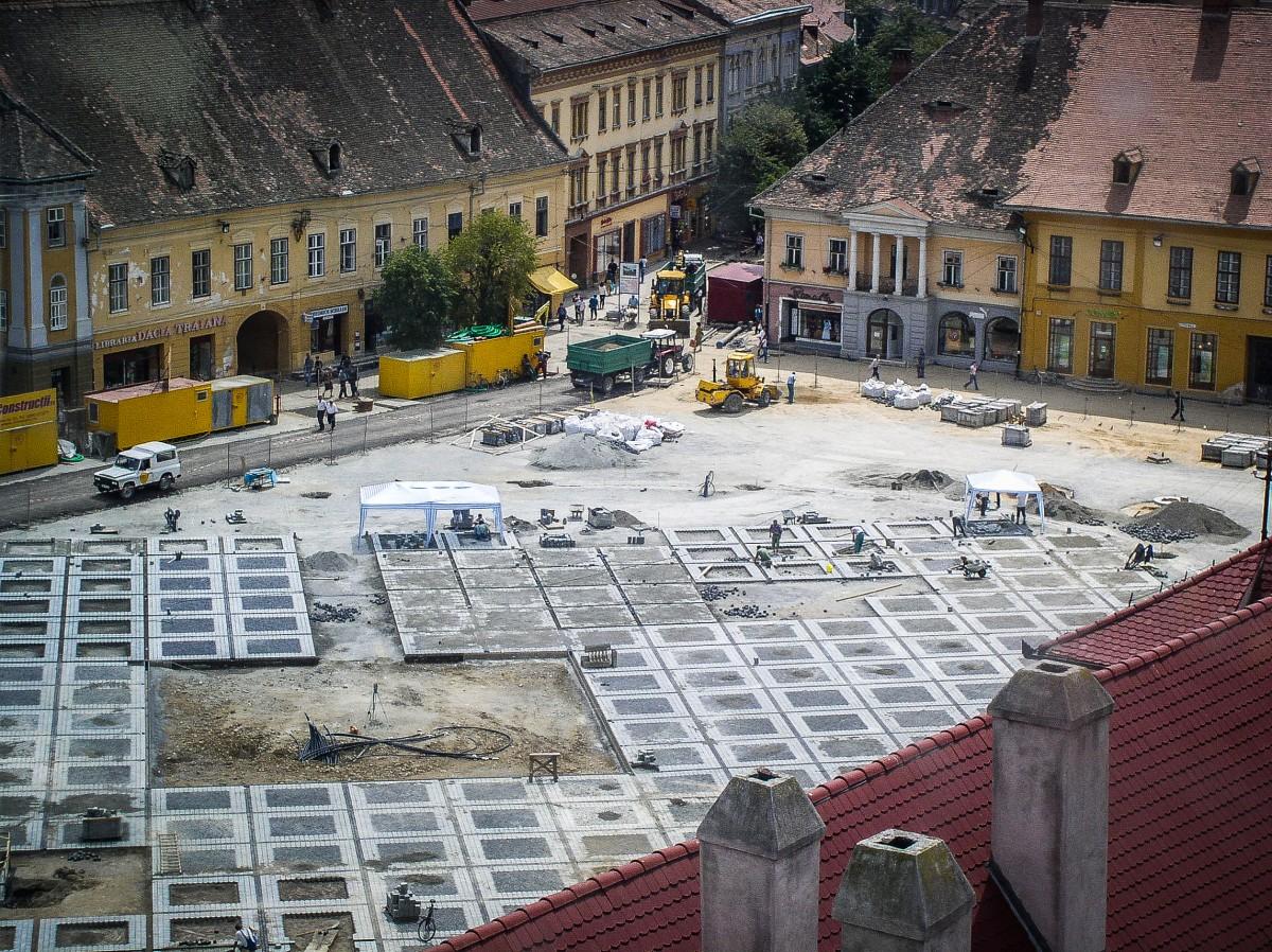 Tunelurile de sub centrul Sibiului. O poveste