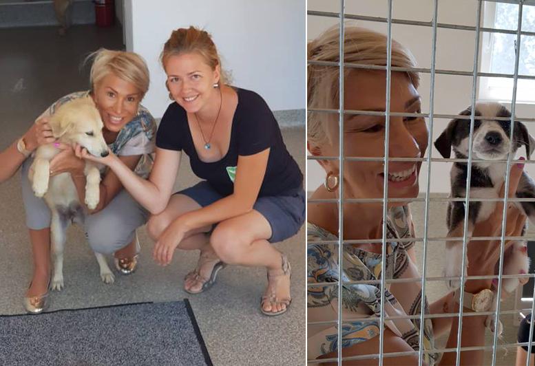 Raluca Turcan sprijină activitatea celor de la Animal Life:
