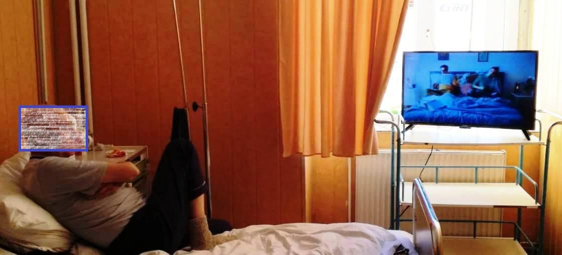 Secții ale Spitalului Județean au fost dotate cu televizoare, din bani donați de persoane fizice