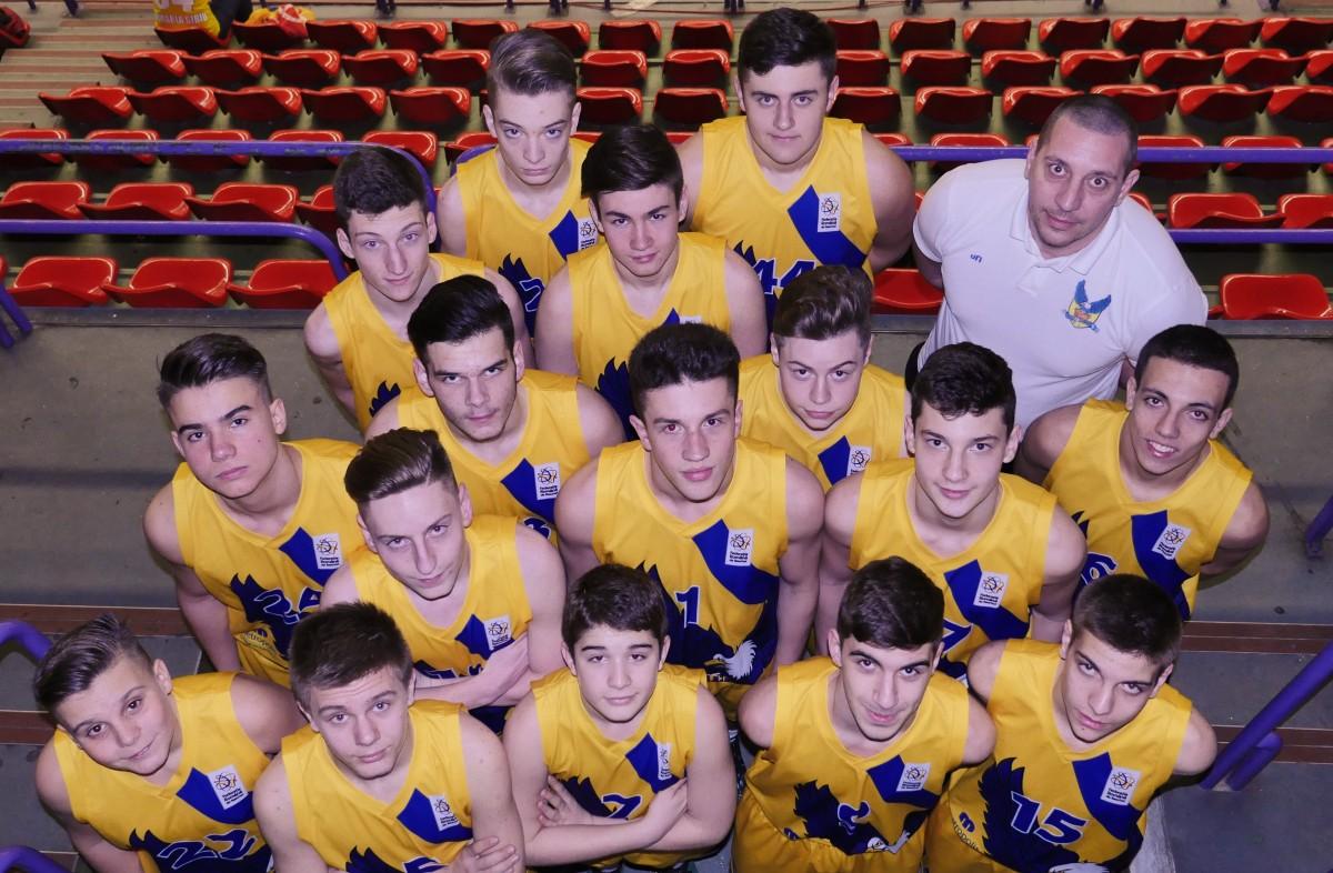 Juniorii U16 de la CSU Sibiu debuteazӑ la Turneul Final