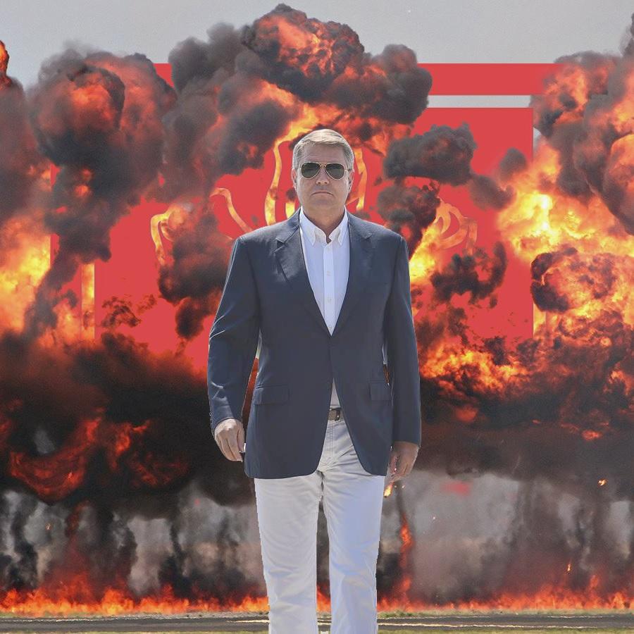 """Președintele """"cool"""". Iohannis, comparat de internauți cu Schwarzenegger,  Tom Cruise sau James Bond"""