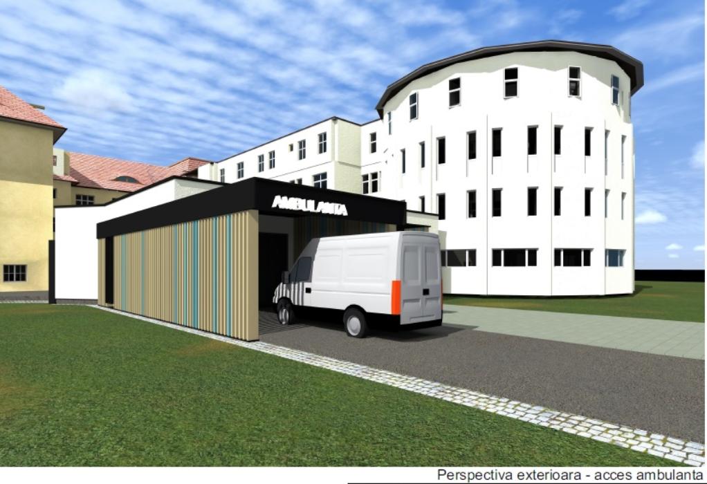 Cum va arăta UPU Sibiu, după investiții de 8 milioane. Contractul a fost semnat