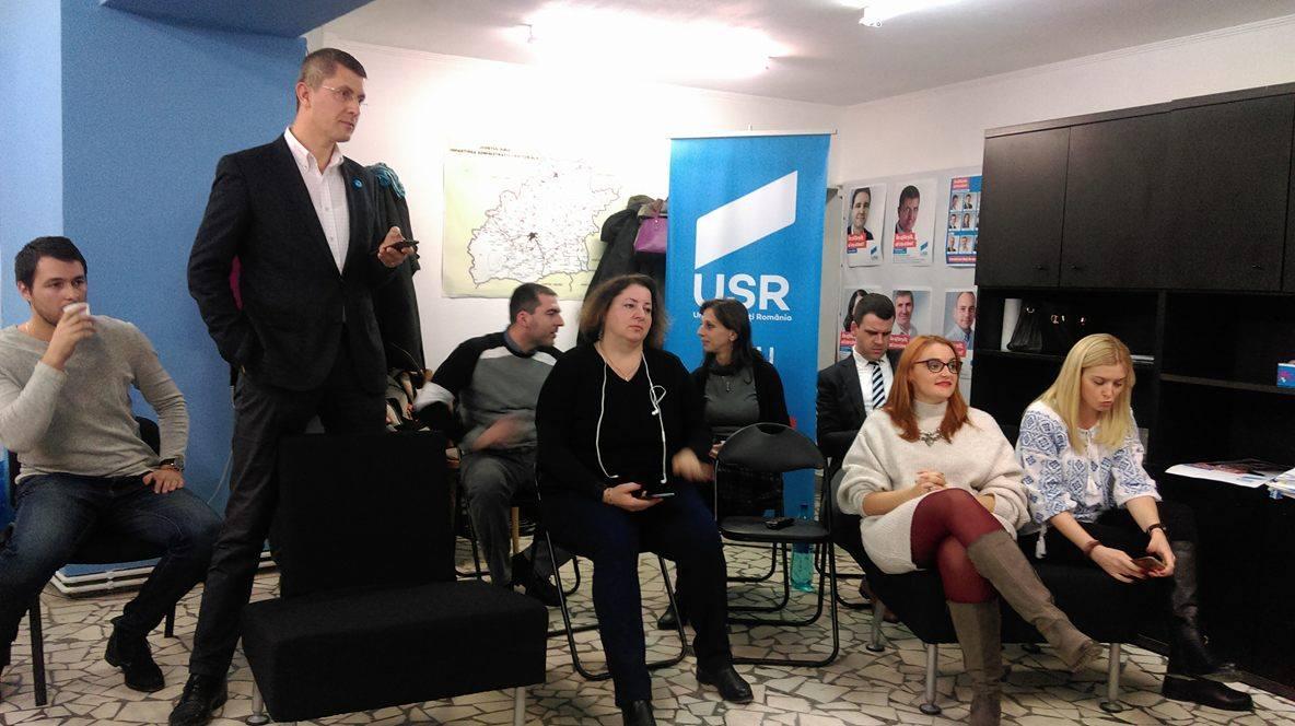 """Alegeri parlamentare 2016. Dan Barna, USR Sibiu: """"sunt convins că rezultatele de la Sibiu vor fi mai mari""""   Video"""