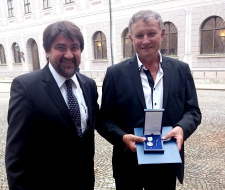 """Sibian premiat de prim-ministru Bavariei pentru curaj. """"După ce l-am salvat a vrut să-mi dea 50 de euro"""""""