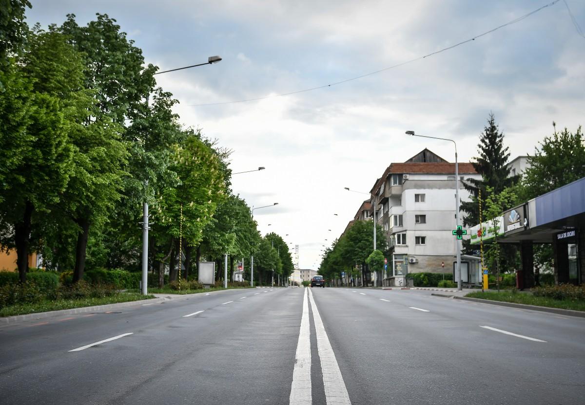 Noi restricții pe bulevardul Vasile Milea, pentru asfaltare