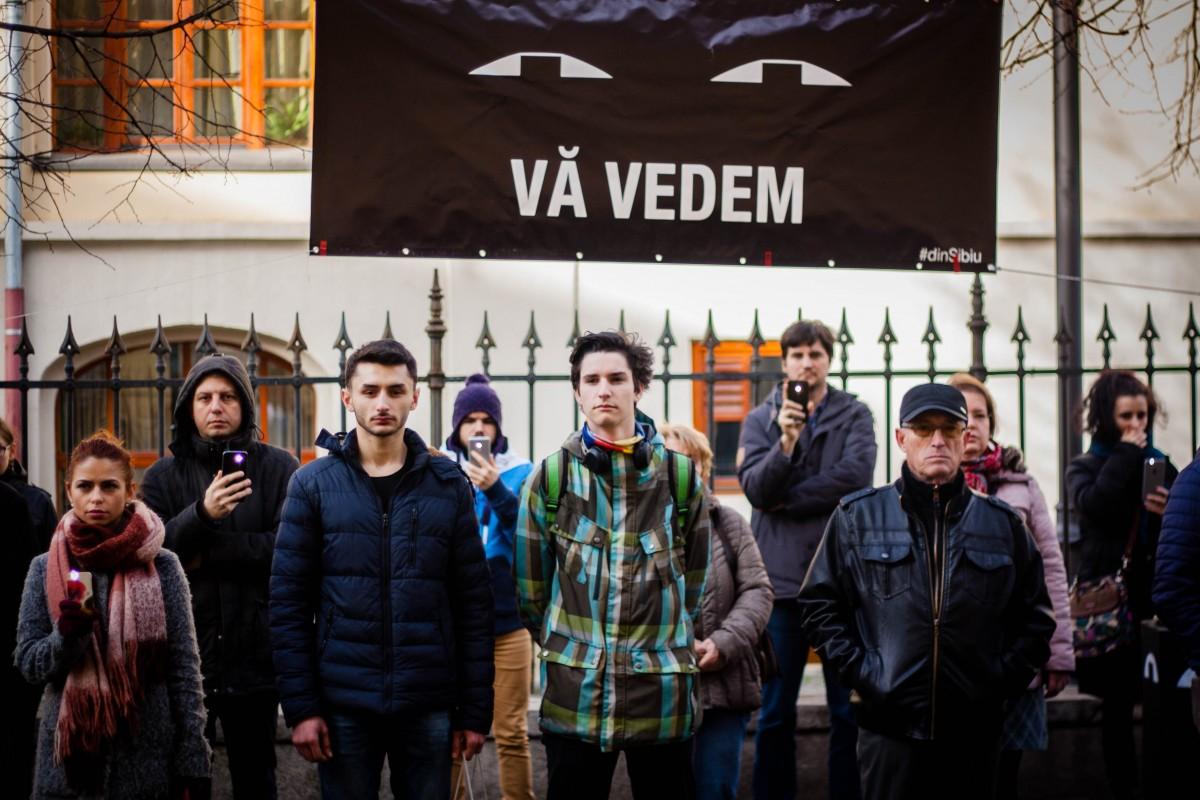 Protestatarii #văvedem din Sibiu, invitați la Parlamentul European