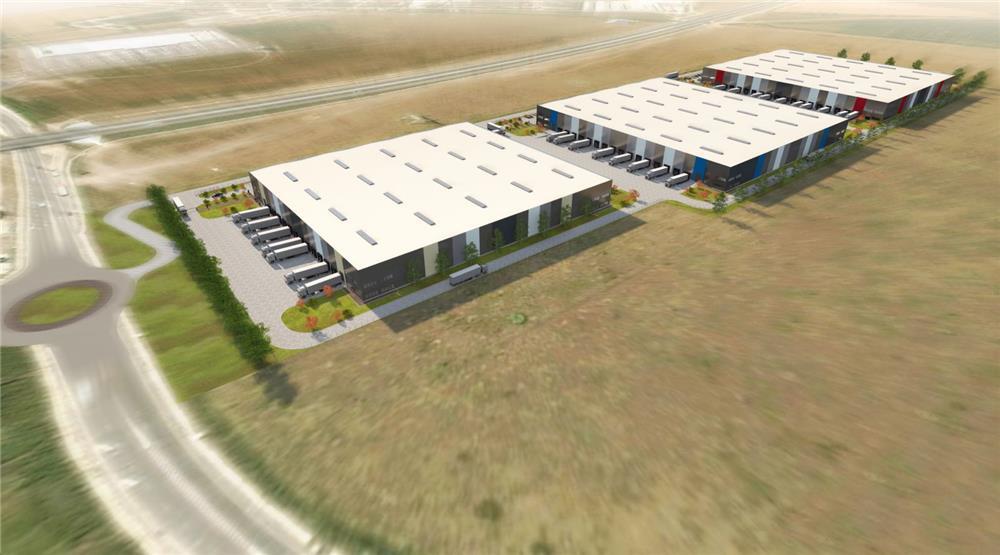 Peste patru hectare de construcții: a fost demarat proiectul celui mai mare parc logistic din Sibiu
