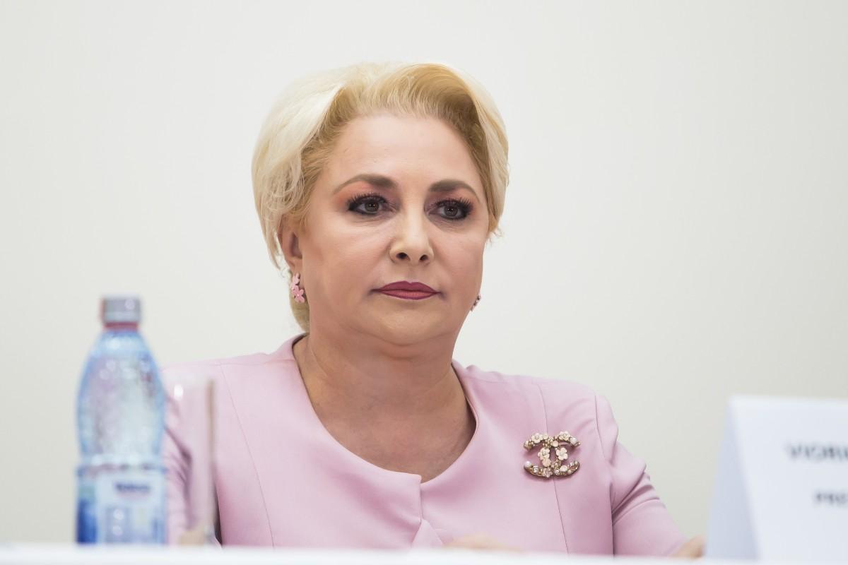 Viorica Dăncilă, candidatul PSD la prezidențiale