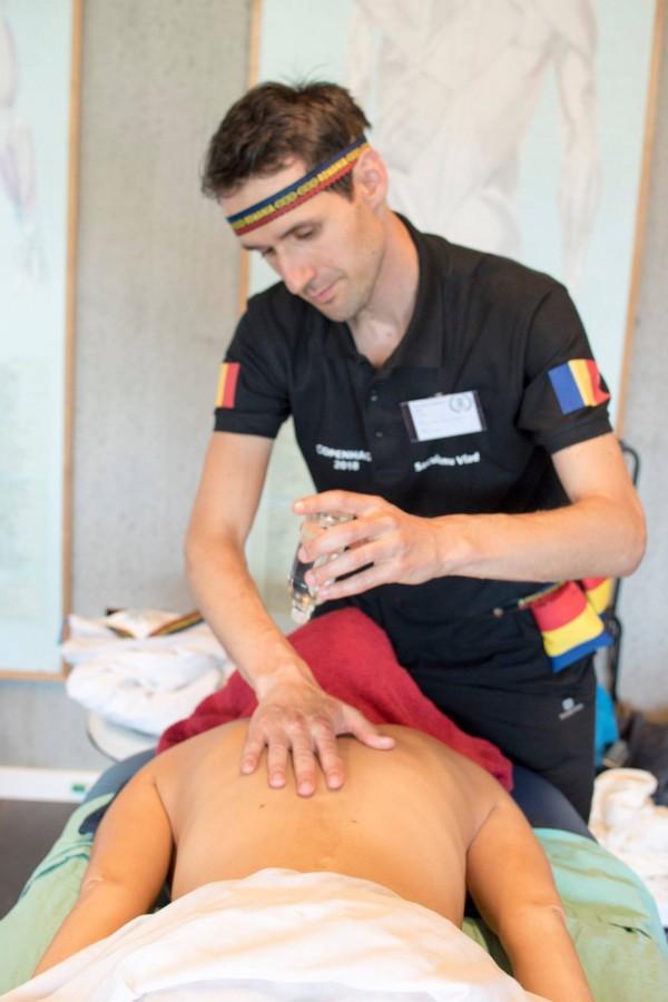 Campionatul mondial de masaj: una din medaliile de bronz vine la Sibiu