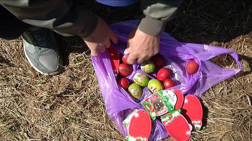 Foto | Concurs de căutat ouă și iepurași din ciocolată, la Păltiniș