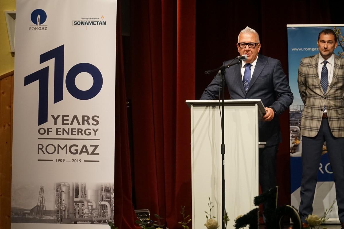 """VIDEO Romgaz și-a aniversat cei 110 ani. """"Ne așteaptă o muncă titanică"""""""