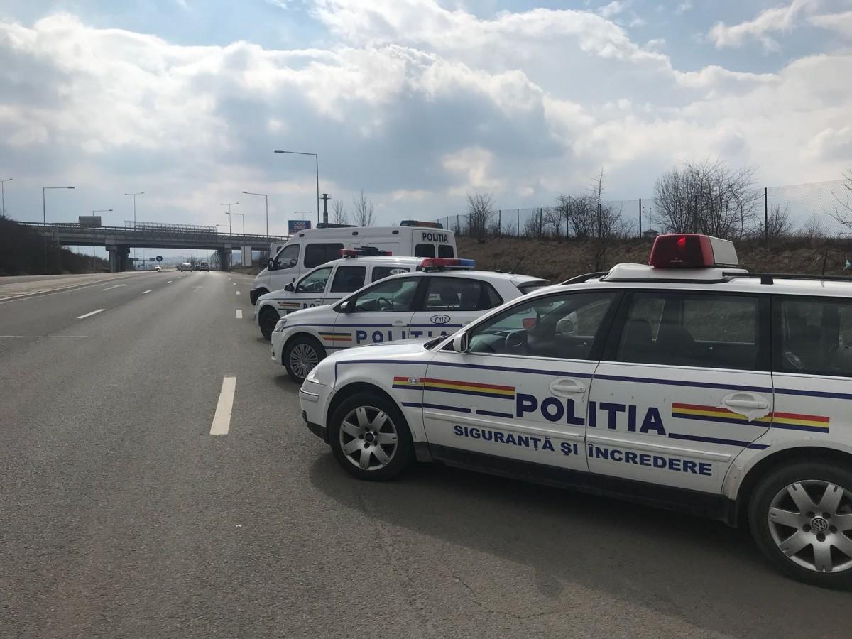 Amenzi de 67.000 de lei, acordate de polițiștii rutieri, în weekend