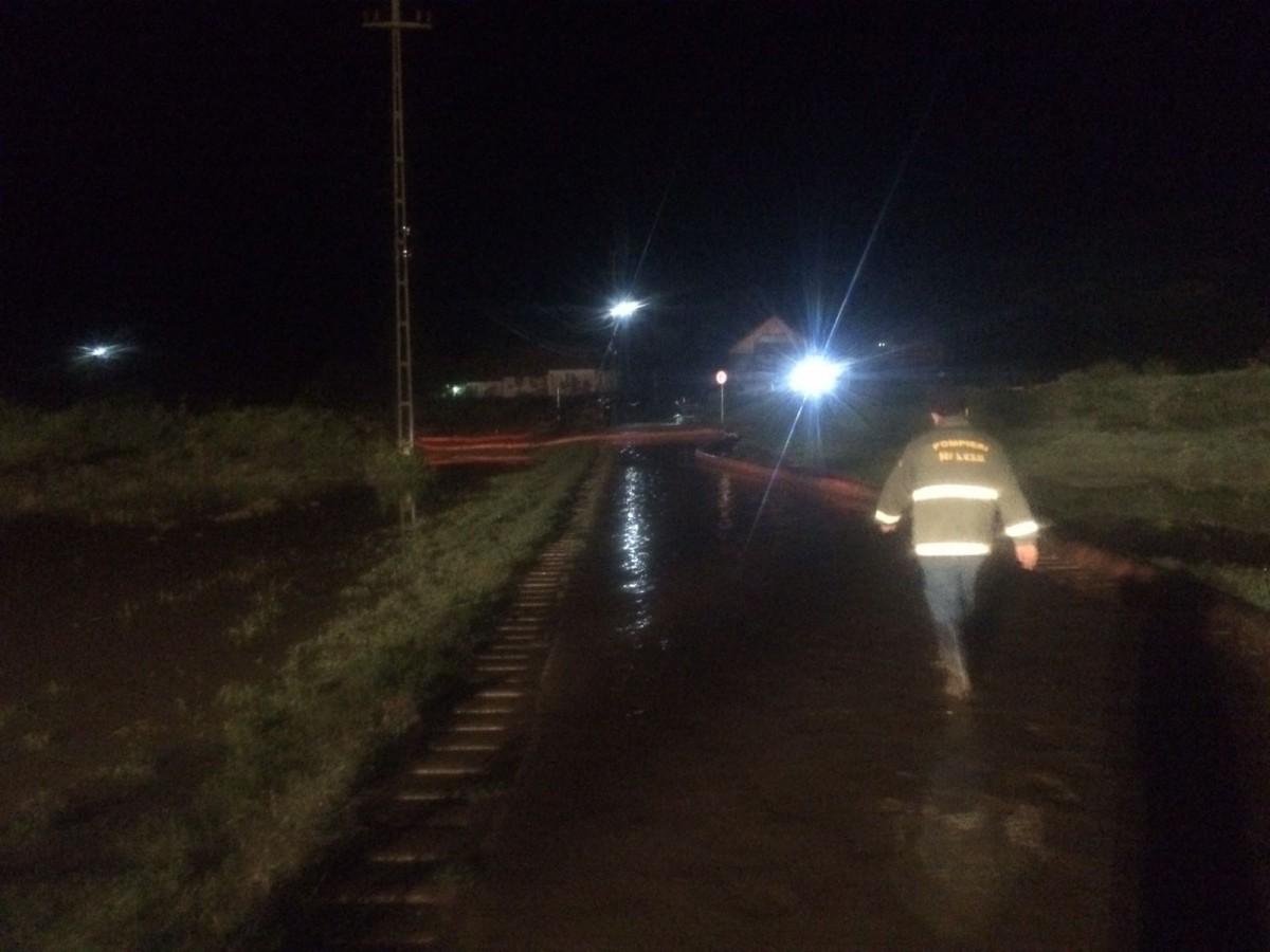 Drumul județean Jina-Dobra a fost redeschis circulației rutiere