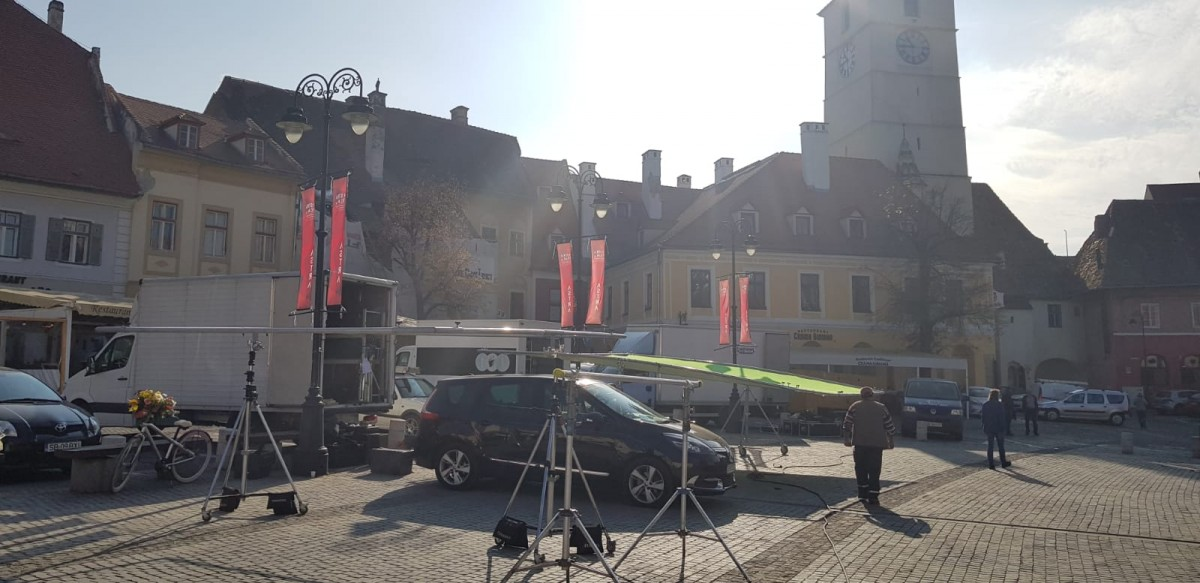 FOTO - O nouă reclamă națională cu centrul Sibiului în fundal
