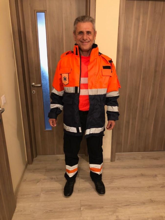 """Rehejeh Ghayas, rezidentul sirian al Ambulanței Sibiu: """"Am salvat un om care putea să moară de la prea mult râs"""""""