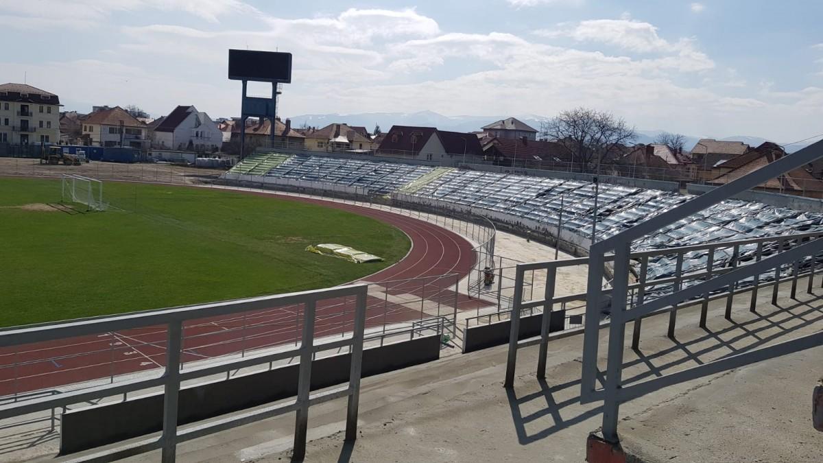 După eșecul stadionului din Sibiu, Construcții SA vrea să construiască un stadion de atletism