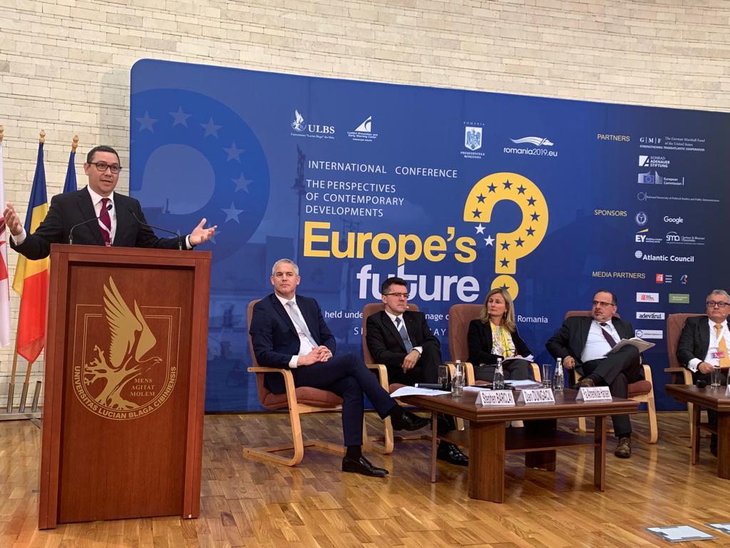 Pro România alături de valorile europene și Uniunea Europeană