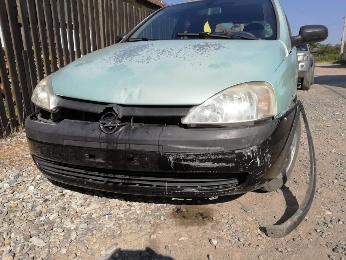 Amendă de 3.000 de lei pentru o sibiancă: s-a îmbătatși a băgat mașina într-un gard, apoi s-a certat cu poliția