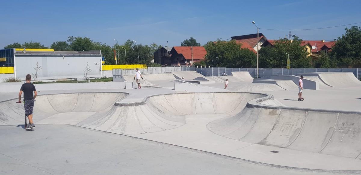 Skatepark-ul din Obor lăudat de vizitatori: Mi se pare bine construit și sigur pentru cei mici