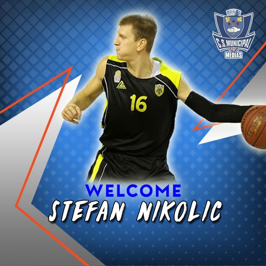 Stefan Nikolic este de acum jucătorul lui CSM Mediaș