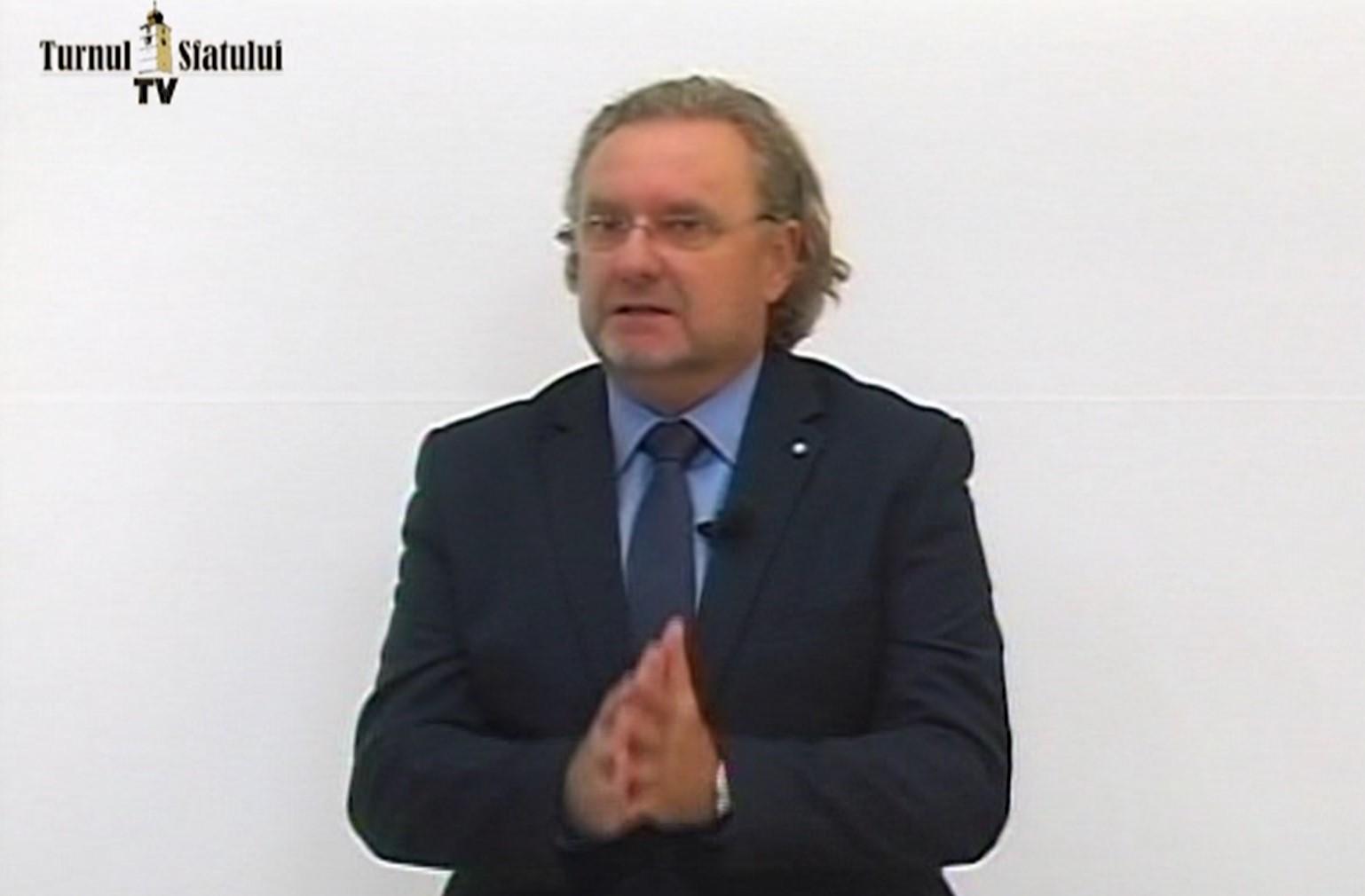 TSTV Prof. univ. dr. Zeno Pinter: Îi compătimesc pe colegii care se ocupă de cultura și civilizația dacică. Se vehiculează niște baliverne groaznice