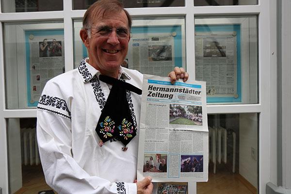 Din același an cu județul Sibiu. Hermannstädter Zeitung împlinește 50 de ani
