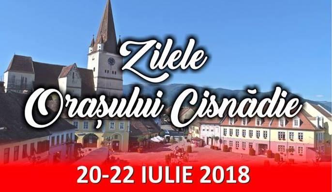 Zilele orașului Cisnădie. Trei zile de muzică populară, pop-rock și momente de umor (P)