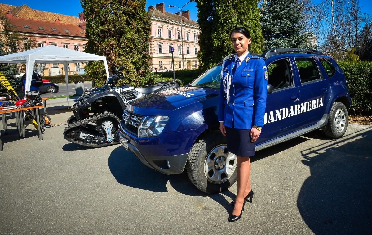 Jandarmul născut de Ziua Jandarmeriei: O femeie poate să facă ceea ce face un bărbat