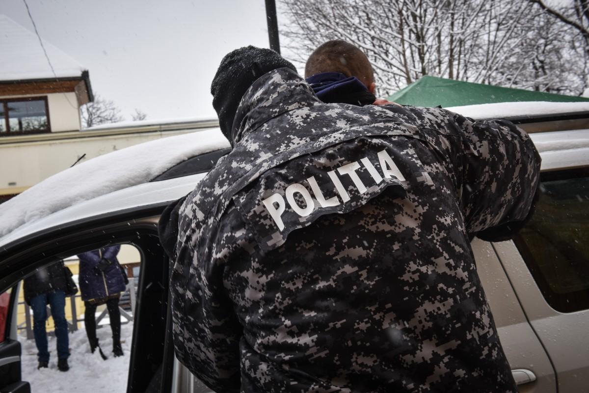 Cetățean german reținut la Sibiu de polițiștii de la Investigații Criminale