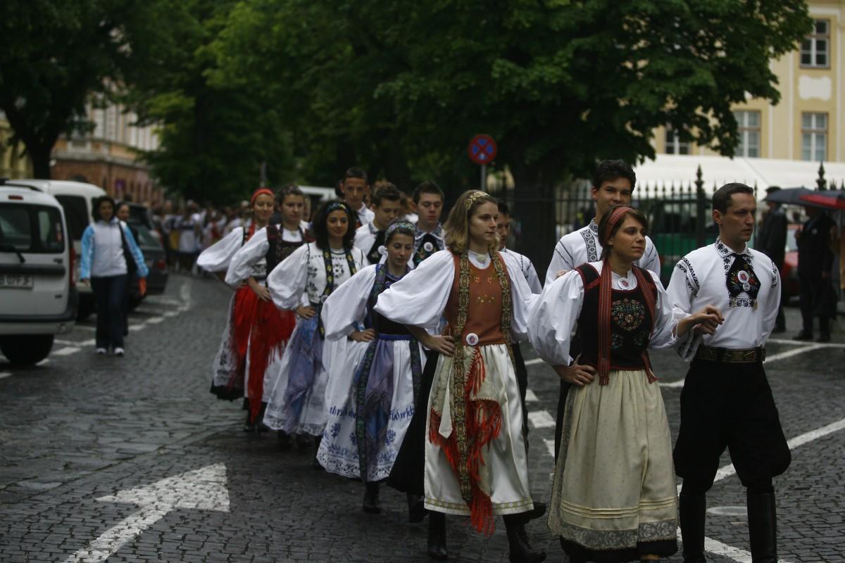 Sibiul va găzdui la vară cea mai mare întâlnire a sașilor din istorie, cu zeci de mii de participanți