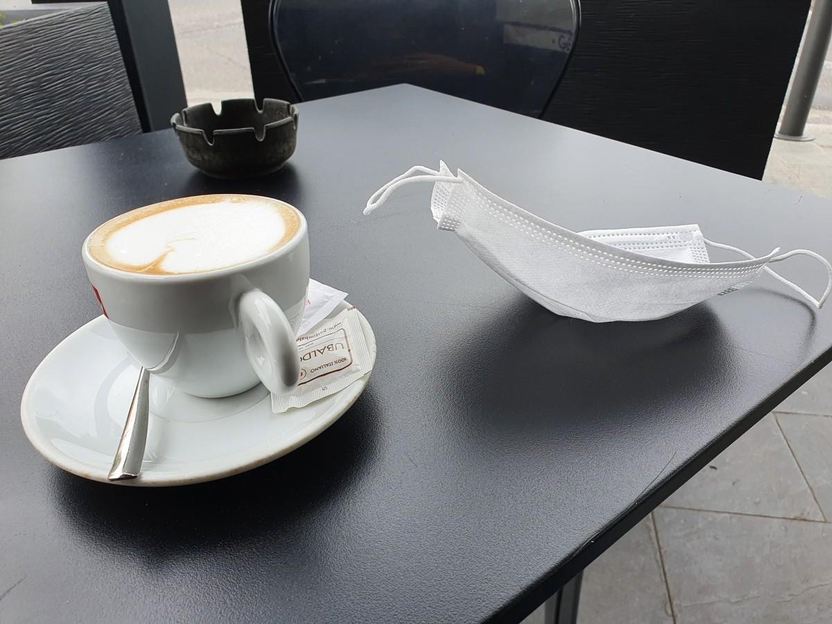 Am băuto cafea pe terasă, în Italia. Ce s-a schimbat față de anul trecut