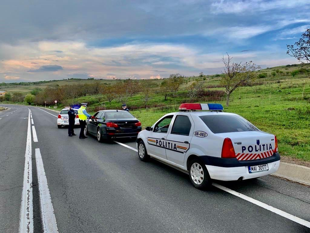 Șofer prins băut de două ori, în 24 de ore. A doua oară era aproape la fel de beat