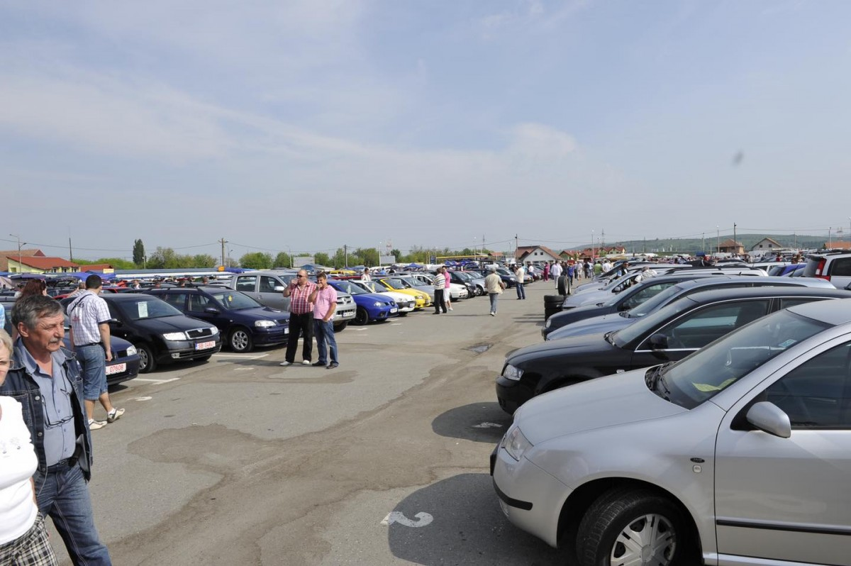 Piețe Sibiu SA anunță redeschiderea Târgului auto din Obor