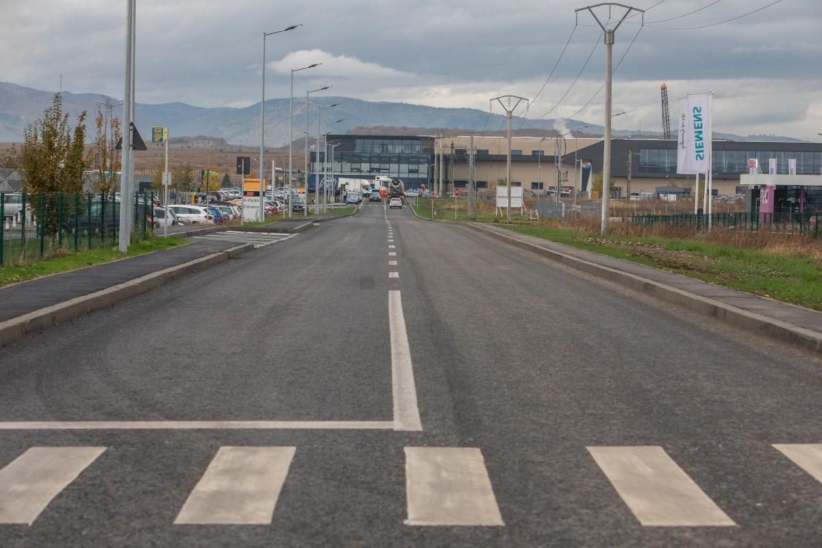 Primăria Sibiu continuă investițiile în Zona Industrială Vest a Sibiului