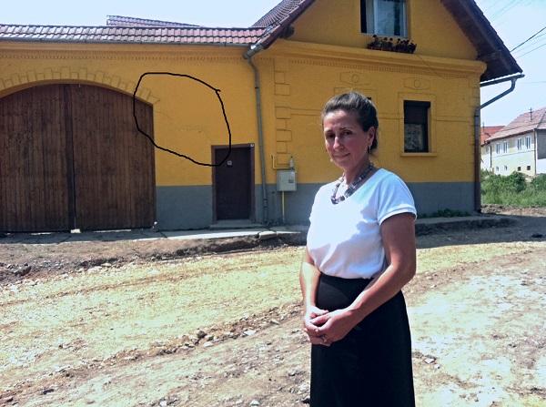 Case crapate dupa lucrarile de canalizare, in Ighisul Nou